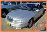 Classic 2001 Holden Statesman WH V6 Silver Automatic 4sp A Sedan for Sale