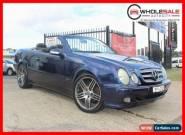 1999 Mercedes-Benz CLK230 Kompressor Blue Automatic A Cabriolet for Sale