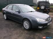 2004 FORD MONDEO GHIA X GREY for Sale