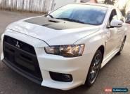 2015 Mitsubishi Evolution for Sale