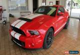 Classic 2013 Ford Mustang Shelby GT500 Coupe 2-Door for Sale