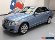 2012 Mercedes-Benz E-Class Base Sedan 4-Door for Sale