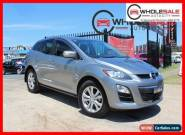 2010 Mazda CX-7 ER Series 2 Classic Wagon 5dr Activematic 5sp 2.5i Silver A for Sale