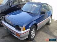 Honda: CRX for Sale