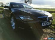 2004 BMW 645 CI AUTO BLACK STUNNING EXCELLENT CONDITION FSH M6,M5,M3 for Sale