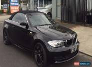 2008 BMW 125i CONVERTIBLE IMMACULATE BLACK 1 OWNER    for Sale