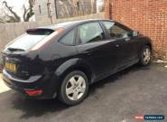 2008 ford focus style 1.6 black only 40k for Sale