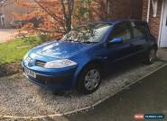 Renault Megane 1.6 16v 2004 spares or repairs for Sale