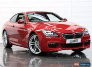 2015 BMW 6 Series 640d M Sport 2dr Auto Diesel red Automatic for Sale
