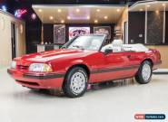 1988 Ford Mustang LX Convertible 2-Door for Sale