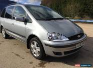 Ford Galaxy TDi Ghia (Diesel) 6 speed(2018 LONG MOT) 1p Start NO RESERVE AUCTION for Sale