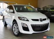 2011 Mazda CX-7 ER10A2 Sports White Manual 6sp M Wagon for Sale