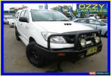 Classic 2011 Toyota Hilux KUN26R MY11 Upgrade SR (4x4) White Automatic 4sp A for Sale
