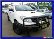 2011 Toyota Hilux KUN26R MY11 Upgrade SR (4x4) White Automatic 4sp A for Sale