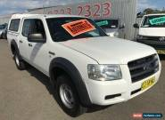 2008 Ford Ranger PJ 07 Upgrade XL (4x2) White Automatic 5sp A Dual Cab Pick-up for Sale