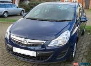 2011 VAUXHALL CORSA EXCITE AC S-A BLUE for Sale