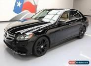 2014 Mercedes-Benz E-Class Base Sedan 4-Door for Sale