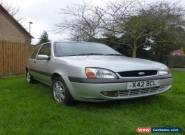 FORD FIESTA ZETEC SILVER 2000  NO RESERVE     LONG MOT for Sale