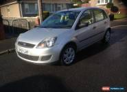 2007 FORD FIESTA STYLE SILVER for Sale