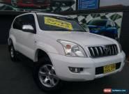 2004 Toyota Landcruiser Prado GRJ120R GXL (4x4) White Automatic 4sp A Wagon for Sale