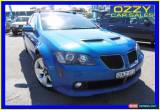 Classic 2009 Holden Commodore VE MY09.5 SS-V Blue Manual 6sp M Sedan for Sale