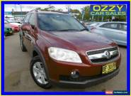 2007 Holden Captiva CG MY08 CX (4x4) Burgundy Automatic 5sp A Wagon for Sale