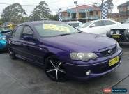 2003 Ford Falcon BA XR6 Purple Automatic 4sp A Sedan for Sale