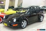 Classic 1982 Porsche 911 SC Black Manual 5sp M Cabriolet for Sale