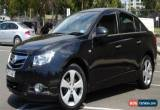 Classic 2010 Holden Cruze Sedan CDX - Only 57,000 Kms for Sale