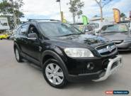2007 Holden Captiva CG LX Black Automatic 5sp A Wagon for Sale
