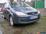 2004 FORD FOCUS C-MAX ZETEC GREY 1.8l petrol manual for Sale
