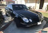 Classic 2007 Mercedes-Benz E-Class 4 door sedan for Sale