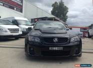 2007 Holden Commodore VE SS-V Black Manual 6sp M Utility for Sale