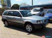 2003 SUBARU FORESTER X 2.5L AUTOMATIC AIR CON EXCELLENT CONDITION LOG BOOKS for Sale
