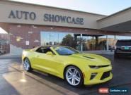 2016 Chevrolet Camaro SS Convertible 2-Door for Sale
