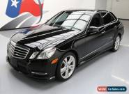 2013 Mercedes-Benz E-Class Base Sedan 4-Door for Sale