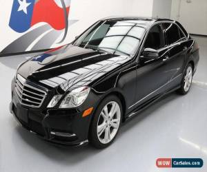 Classic 2013 Mercedes-Benz E-Class Base Sedan 4-Door for Sale