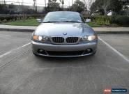 2004 BMW 3-Series Base Convertible 2-Door for Sale