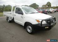 2008 Toyota Hilux GGN15R 08 Upgra SR White Automatic 5sp A Cab Chassis for Sale