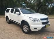 2013 Holden Colorado RG LX (4x2) White Automatic 6sp A Crewcab for Sale