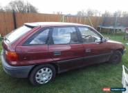 spares or repair 1992 vauxhall astra merit for Sale