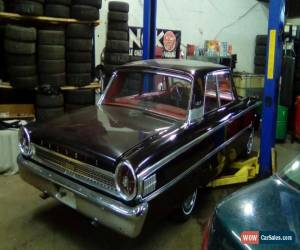 Classic Ford: Galaxie 2 door sedan for Sale