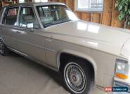 1986 Cadillac Fleetwood for Sale