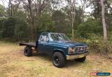 Classic 1985 Ford F100, 4WD for Sale