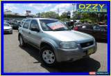 Classic 2004 Ford Escape ZB XLT Silver Automatic 4sp A Wagon for Sale