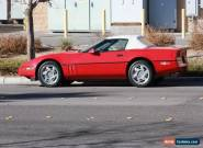 1990 Chevrolet Corvette Base Convertible 2-Door for Sale