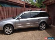 subaru outback 2007 manual silver full service history accessories for Sale