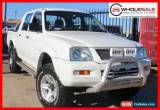 Classic 2005 Mitsubishi Triton White Manual M Utility for Sale