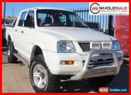 2005 Mitsubishi Triton White Manual M Utility for Sale