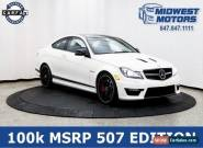 2015 Mercedes-Benz C-Class Base Coupe 2-Door for Sale